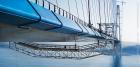 Самодвижущиеся смотровые тележки для мостовых пролетов